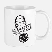 Operation Boot Camp Classic Black Logo Mug