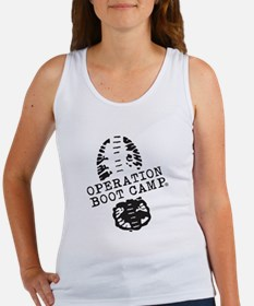 Operation Boot Camp Classic Black Logo Tank Top