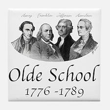 Olde School Tile Coaster