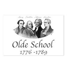 Olde School Postcards (Package of 8)