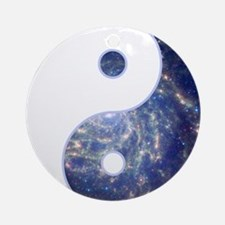 Yin Yang - Cosmic Ornament (Round)