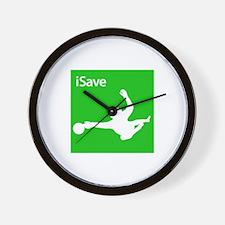 iSave Wall Clock