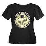 Free Refills Plus Size T-Shirt