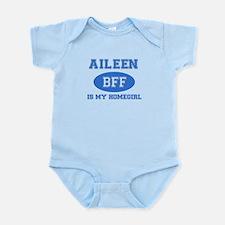 Aileen is my homegirl Infant Bodysuit