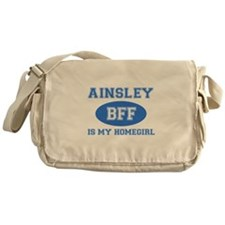 Ainsley is my homegirl Messenger Bag