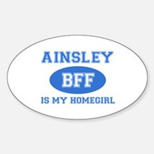 Ainsley is my homegirl Decal
