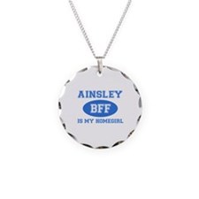 Ainsley is my homegirl Necklace Circle Charm