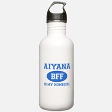 Aiyana is my homegirl Water Bottle