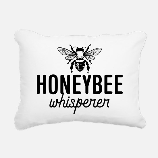 Honeybee Whisperer Rectangular Canvas Pillow