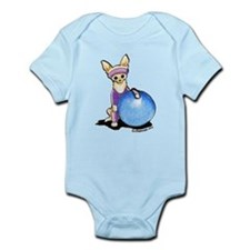 Fitness Chihuahua Infant Bodysuit