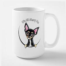 B/T Chihuahua IAAM Large Mug