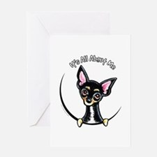 B/T Chihuahua IAAM Greeting Card
