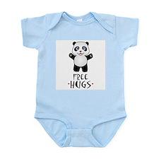 Free Panda Hugs Infant Bodysuit