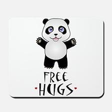 Free Panda Hugs Mousepad