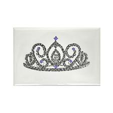 Princess/Tiara Rectangle Magnet