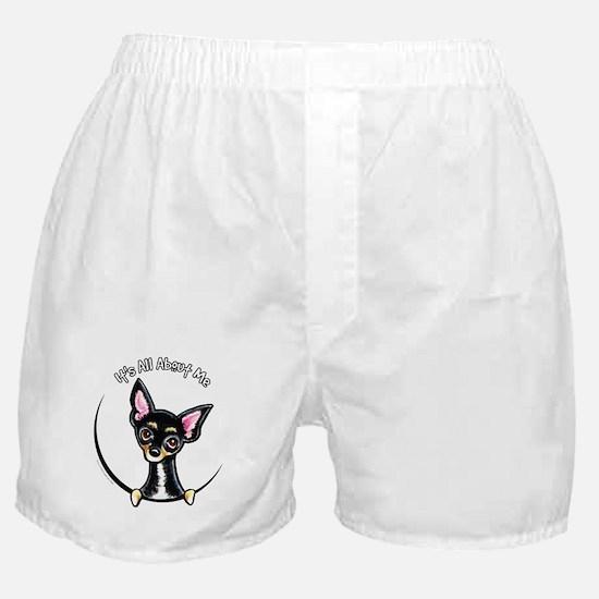 Black Tan Chihuahua IAAM Boxer Shorts