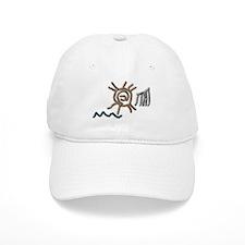 Sun Petroglyph Baseball Cap