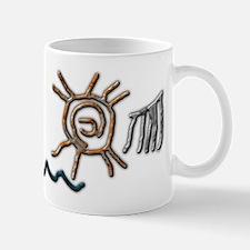Sun Petroglyph Mug