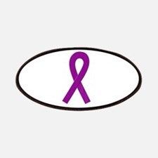 Purple Awareness Ribbon Patches