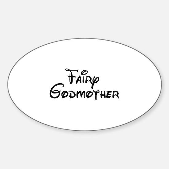 Fairy Godmother's Sticker (Oval)