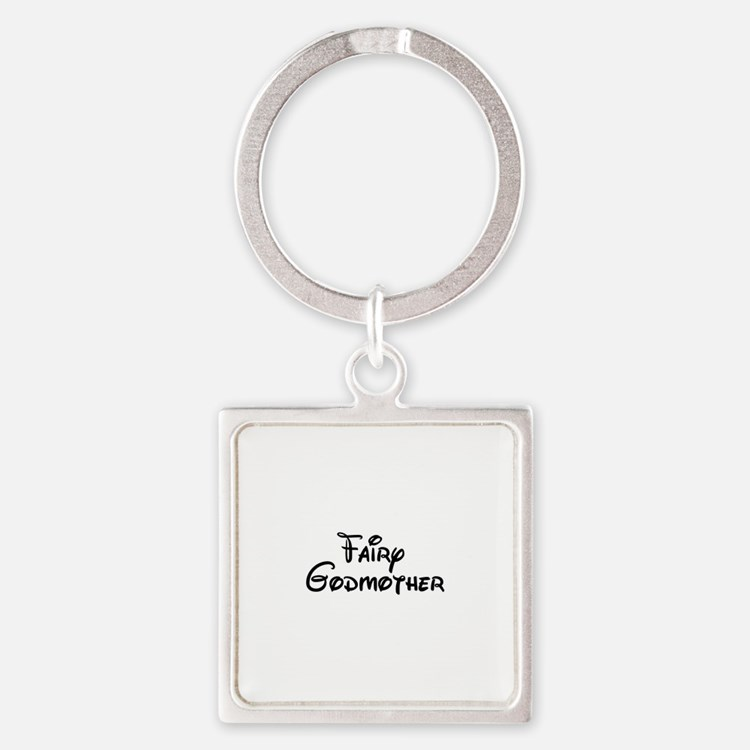 Fairy Godmother's Square Keychain