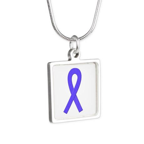 Periwinkle Awareness Ribbon Necklaces