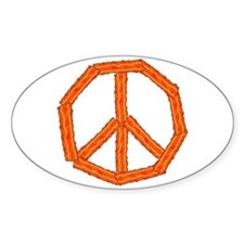 Bacon Peace Sign Decal