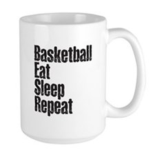 basketball Eat Sleep Repeat Mug