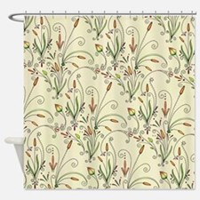 Natures Warmth Pattern Shower Curtain