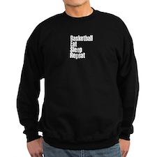 basketball Eat Sleep Repeat Sweatshirt
