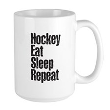 Hockey Eat Sleep Repeat Mug