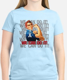 Rosie The Riveter Scoliosis T-Shirt
