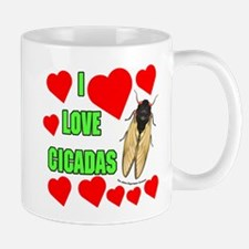 I Love Cicadas Mug