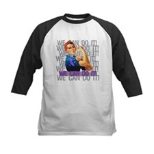Rosie Riveter Rheumatoid Arthritis Baseball Jersey