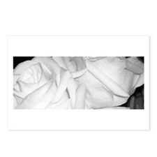 White Roses Postcards (Package of 8)