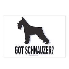 Got Schnauzer Postcards (Package of 8)