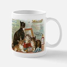 Cats, Vintage Poster Mug