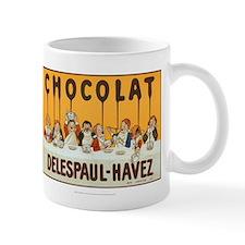 Chocolat, Delespaul-Havez, Vintage Poster Mug