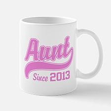 Aunt Since 2013 Mug