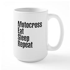 Motorcross Eat Sleep Repeat Mug