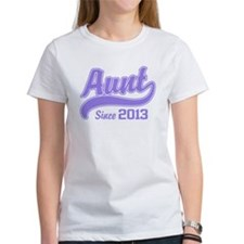Aunt Since 2013 Tee