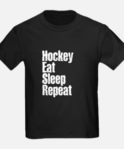 Hockey Eat Sleep Repeat T-Shirt