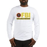Fbi Classic Long Sleeve T-Shirts