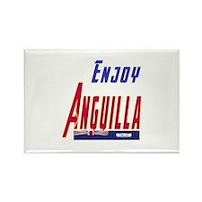 Anguilla Designs Rectangle Magnet