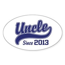 Uncle Since 2013 Decal