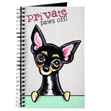 Chihuahua B/T Smooth PAWS OFF Journal