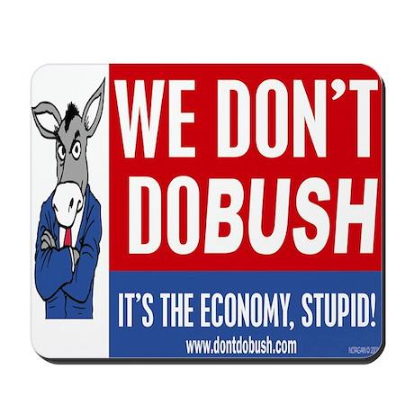 Democrat Economy Mousepad