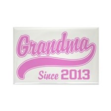 Grandma Since 2013 Rectangle Magnet