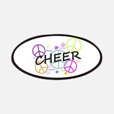 Cheer Peace Sign Patches
