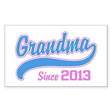 Grandma Since 2013 Decal